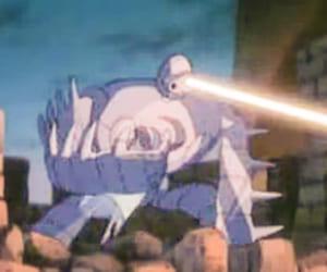 天空の城ラピュタの戦闘用ロボット兵の攻撃