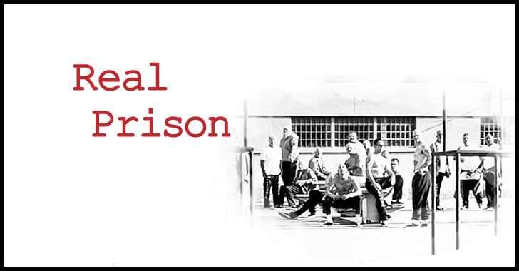 本物の刑務所での撮影風景
