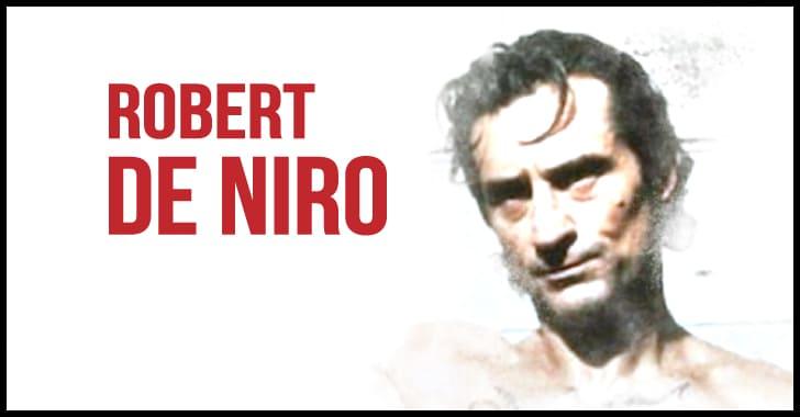 役作りで痩せたロバート・デ・ニーロ